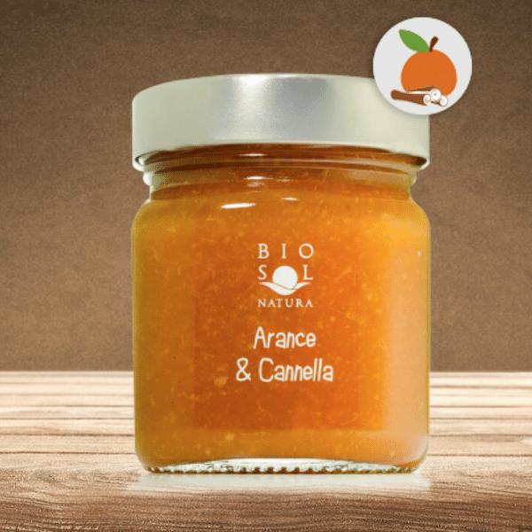 Marmellata Bio Arance & Cannella
