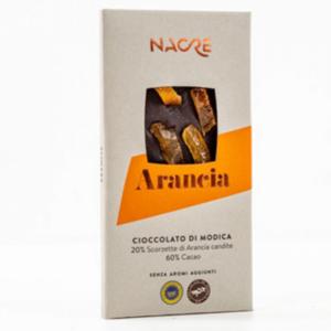Cioccolato di Modica all'arancia IGP