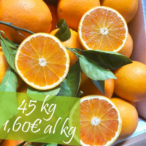 Confezione Arance Tarocco 45 kg
