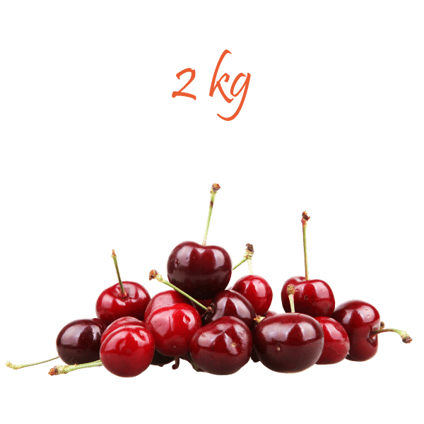 Ciliegie di Sicilia da 2 kg