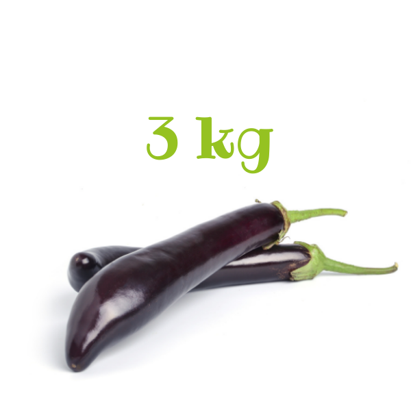 Melanzana lunga 3 kg