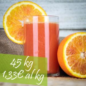 45 kg arance tarocco da spremere