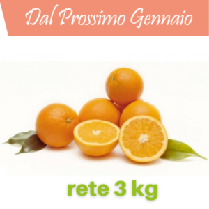 Arance Vaniglia da 3 kg
