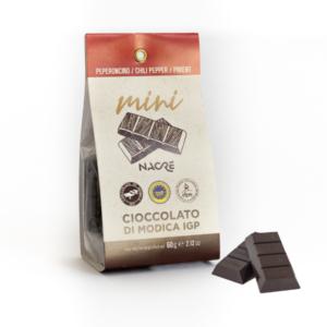 Mini cioccolattini di Modica al peperoncino