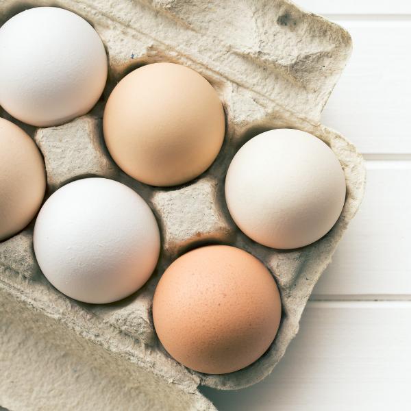 Confezione da 6 uova fresche ac
